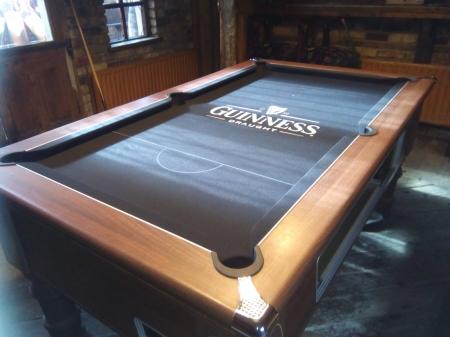 Supreme Prince Guinness Printed Pool Cloth CGQ Snooker - Guinness pool table