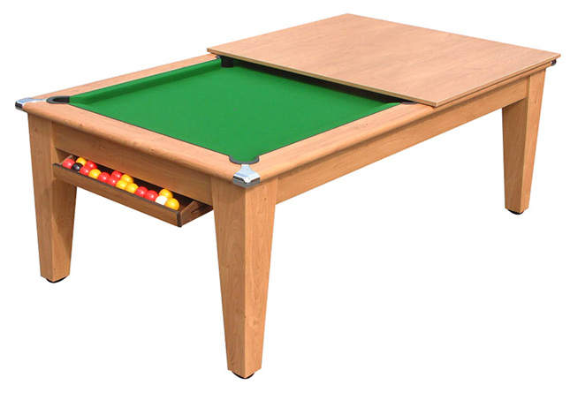 Classic pool dining table 6ft 7ft all finishes cgq for 7ft dining room table