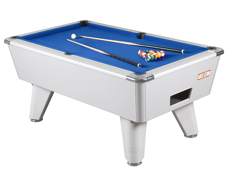 Supreme Winner Pool Table: All Finishes, Freeplay   6ft, 7ft, 8ft | CGQ  Snooker