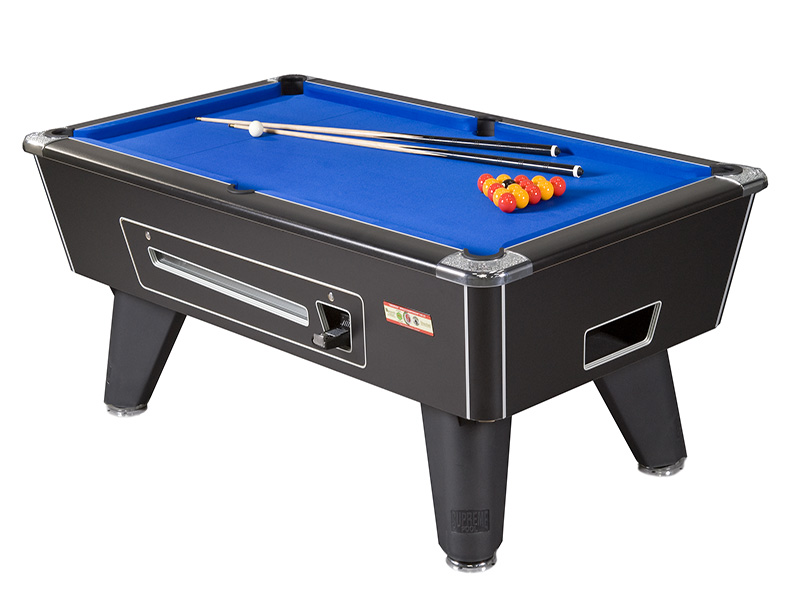 supreme winner pool table all finishes coin op 6ft 7ft 8ft rh cgqsnooker com coin operated pool tables for rent coin operated pool tables for lease