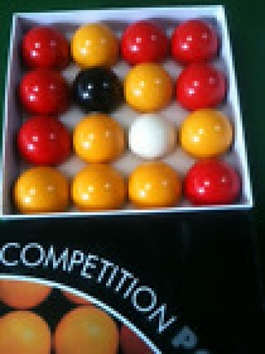 Value Red and Yellow Pool Balls (2