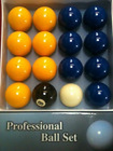 Value Blue and Yellow Pool Balls (2