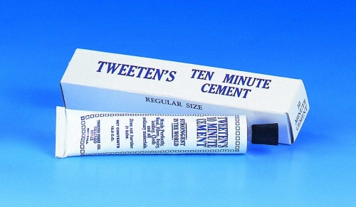 Tweeten Ten Minute Tip Cement