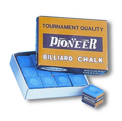 Pioneer Chalk (blue, dozen cubes)