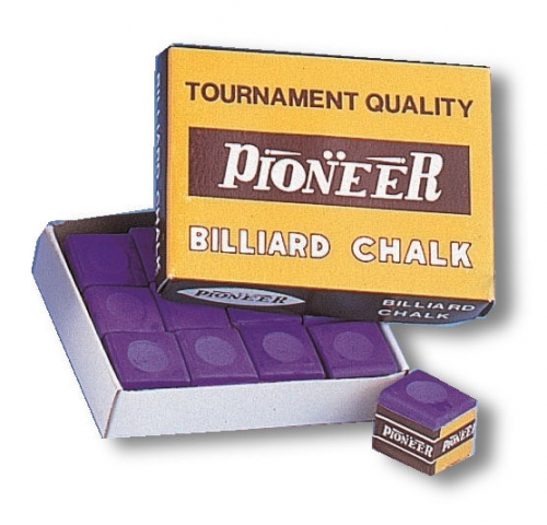 Pioneer Chalk (purple, dozen cubes)