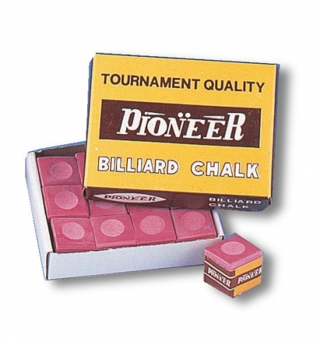 Pioneer Chalk (red, dozen cubes)