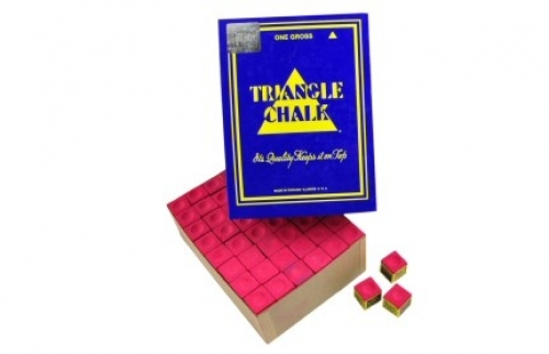 Tweeten Triangle chalk (144 cubes, red)