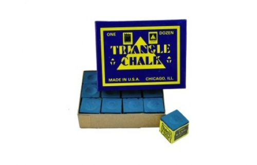 Tweeten Triangle chalk (dozen cubes, blue)