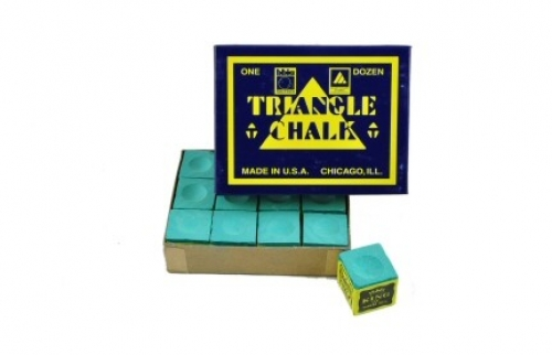 Tweeten Triangle chalk (dozen cubes, green)