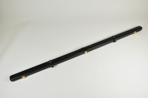 Peradon Thin Leather Cue Case for One Piece Cues (2595-BLA)