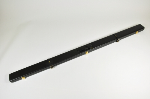 Peradon Wide Leather Cue Case for One Piece Cues (2596-BLA)