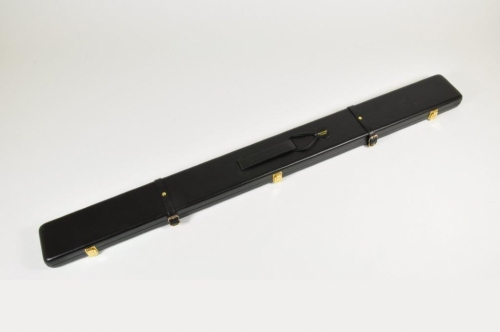Peradon Leather Cue Case for ¾ Cues and Extensions (2696-BLA)