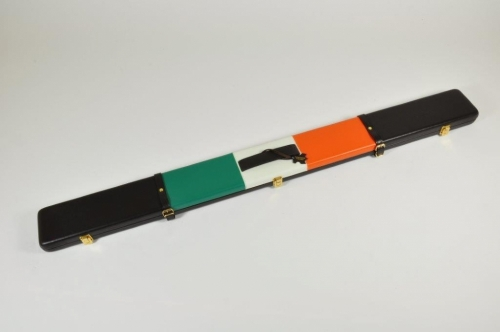 Peradon Leather Cue Case for ¾ Cues and Extensions (2696-IRI)