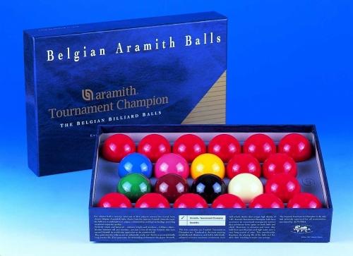 Aramith Tournament Champion Snooker Balls (2 1/16