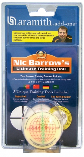 Aramith Nic Barrow's Ultimate Training Ball