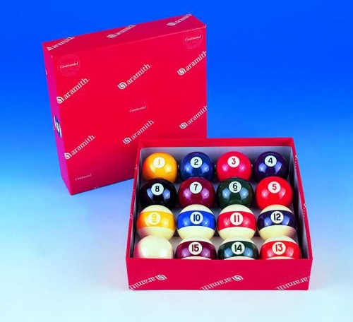 Aramith Screen Printed Pool Balls (1 1/2