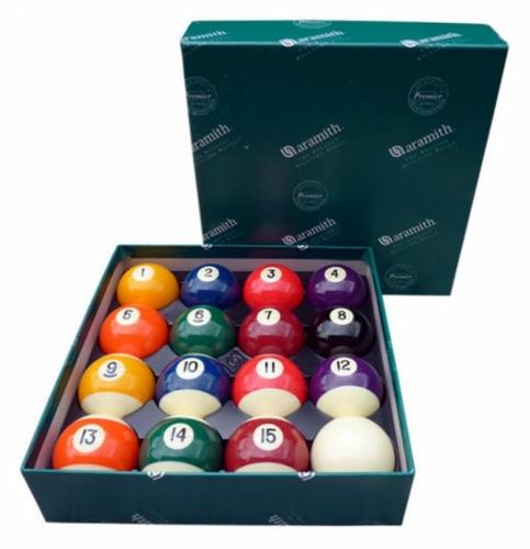 Aramith Premier Spots'n'Stripes Pool Balls (2 1/16