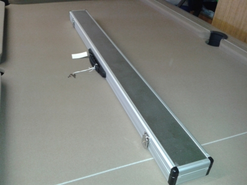 3/4 Wide aluminium cue case