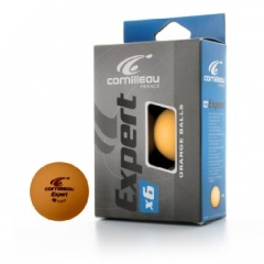 Cornilleau Expert Orange Table Tennis Balls - 6