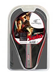Cornilleau Sport Pack Solo Gatien (1 Bat, 1 Cover and 3 Balls)