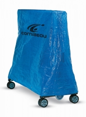 Cornilleau Table Cover - Blue Polyurethane (PVC)