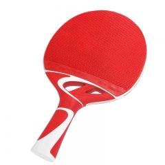 Cornilleau Tacteo 50 Fibre Table Tennis Bat - Red
