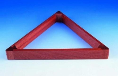 Peradon UK Made Hardwood Mahogany Triangle (2 1/16