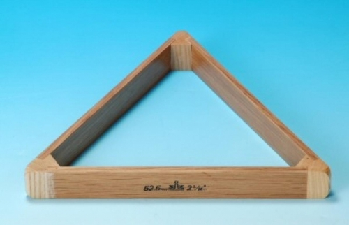 Peradon UK Made Hardwood Oak Triangle (2 1/16