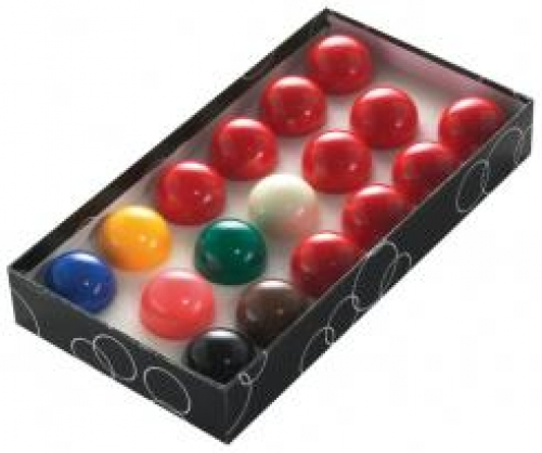 Value Snooker Balls (17 ball set, 2