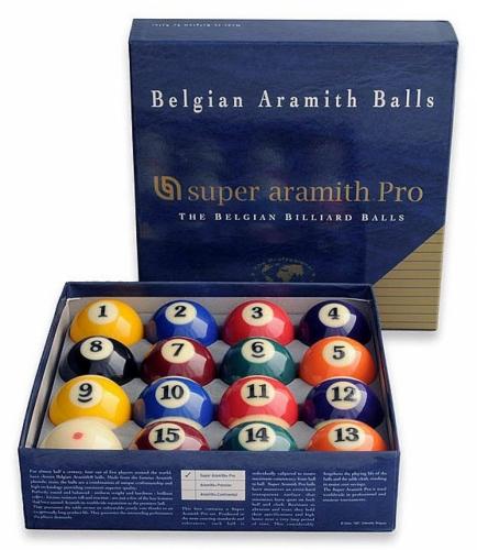 Aramith Super Pro American Pool Balls
