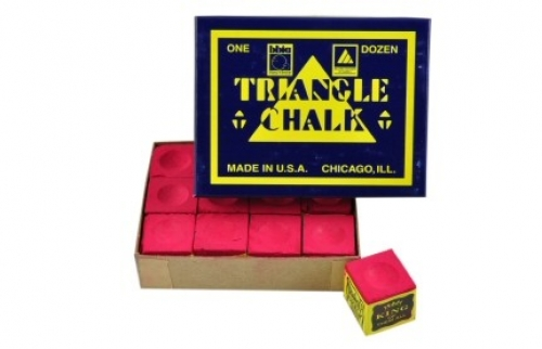 Tweeten Triangle chalk (dozen cubes, red)